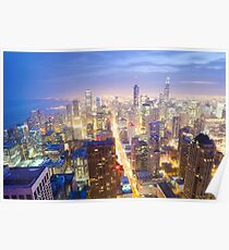 Chicago Skyline Poster