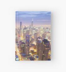 Cuaderno de tapa dura Chicago Skyline