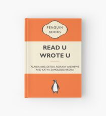 Read U Wrote U Hardcover Journal