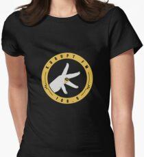 Kurupt Fm Logo Merchandise Women's Fitted T-Shirt