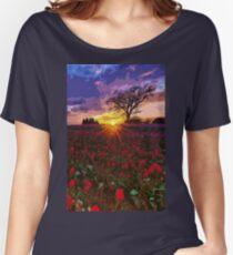 Skagit Valley, Tulip fields Women's Relaxed Fit T-Shirt