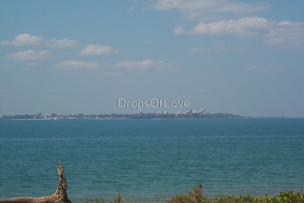 Darwin from Mandorah Beach by DropsOfLove