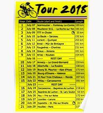 Tour de France 2018 Poster
