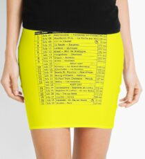 Tour de France 2018 Mini Skirt