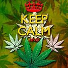 Keep Calm and...Marijuana Leaf! by BluedarkArt