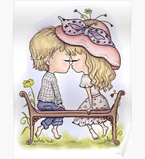The First Kiss. Love Poster