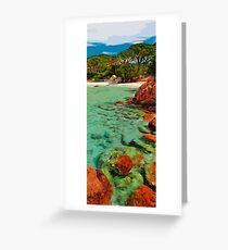 My tropical Heaven Greeting Card
