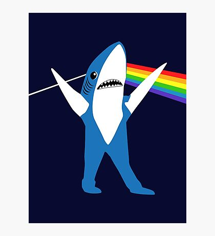 Left Shark of the Moon Photographic Print