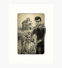 Villain Clans - Norman Bates Art Print
