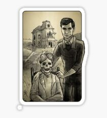 Villain Clans - Norman Bates Sticker