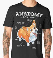 Anatomy of a Corgi T-Shirt Funny Corgis Dog Puppy Shirt Men's Premium T-Shirt
