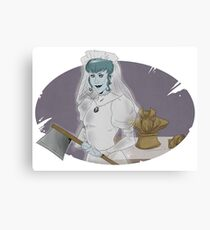Murder Bride Canvas Print