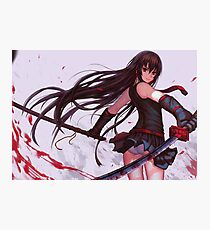 Red eyes sword - Akame ga kill Photographic Print