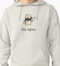 Tofu Fighter Funny T-Shirt for Tofu Lovers and Vegans - Slow Hoodie