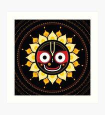 Lord Jagannatha. Art Print