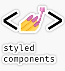 Styled components Sticker