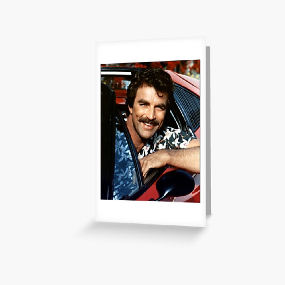 Thomas Magnum P.I Greeting Card