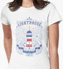 Lighthouse with a hand-lettering quote T-Shirt