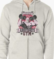 Strong Arm Gym Zipped Hoodie