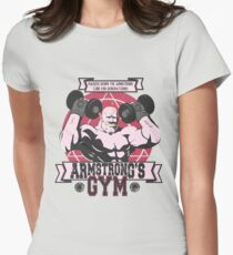 Strong Arm Gym Fitted T-Shirt