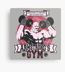 Strong Arm Gym Metal Print