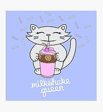 Milkshake Queen Photographic Print