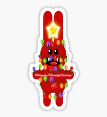 CHRISTMASRABBIT Sticker