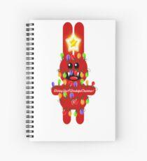 CHRISTMASRABBIT Spiral Notebook