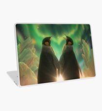 Penguin Aurora  Laptop Skin