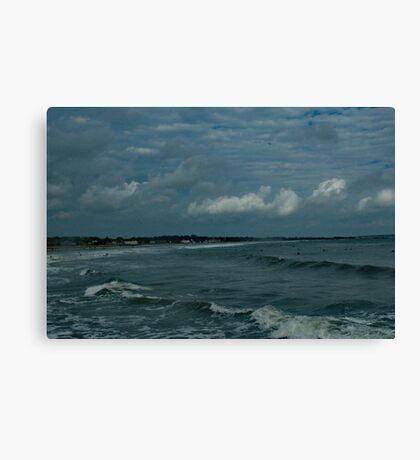 Narragansett Beach after the Storm Canvas Print