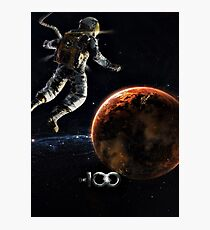 The 100 - Space Walk Photographic Print