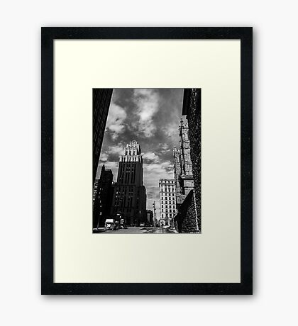 The Light of Spring Framed Print