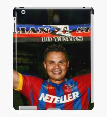 Salako Salutes Speroni. 10 Test. iPad Case/Skin
