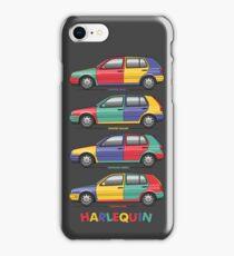 1996 MK3 Golf Harlequin Set iPhone Case/Skin
