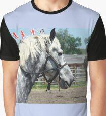 Grey vs Black Graphic T-Shirt