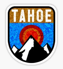 Ski Lake Tahoe Skiing California Nevada Snowboarding Skier Sticker