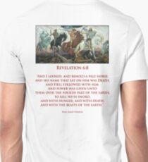 PALE RIDER, Four Horsemen of the Apocalypse, Book of Revelation T-Shirt