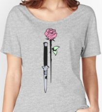 Knife and rose Women's Relaxed Fit T-Shirt
