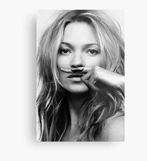 Kate Moss - Life is a joke fashion print Metal Print