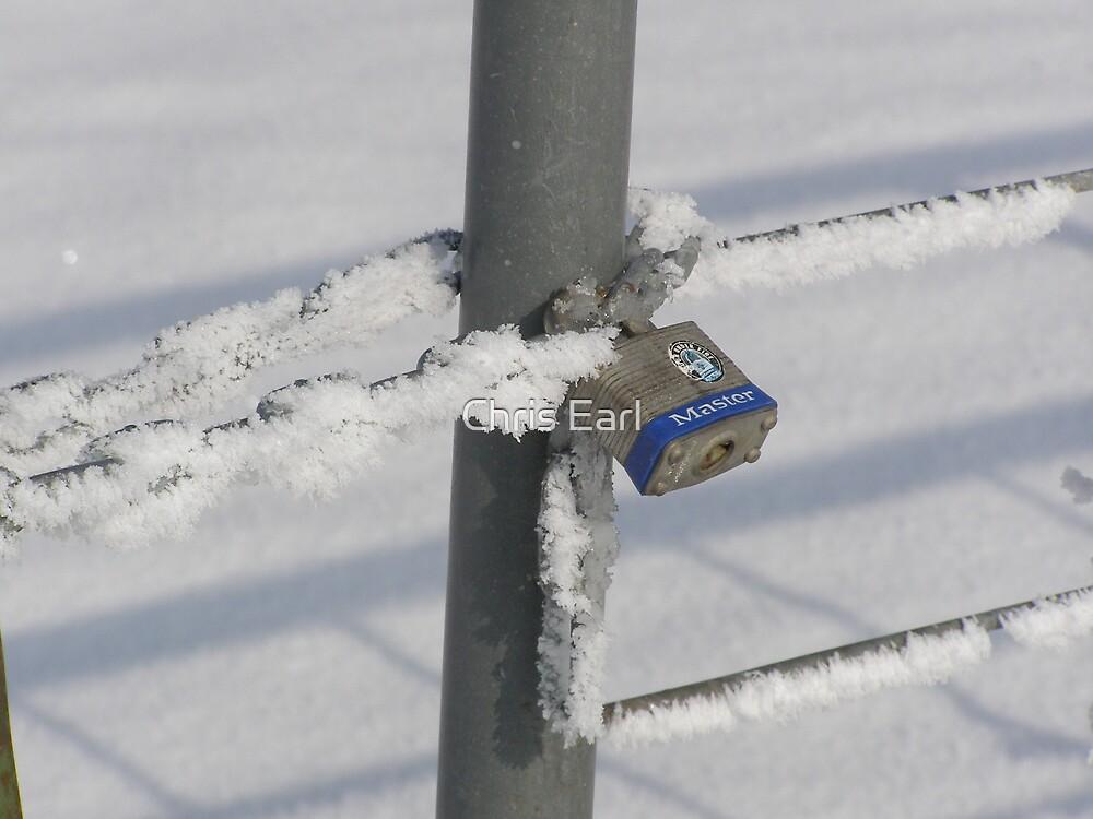 Frozen Lock by Chris Earl