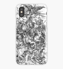APOCALYPSE, Durer, Revelation, 4 Horsemen, Four Riders,  iPhone Case