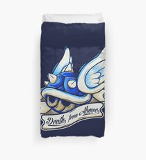 Death from Above Duvet Cover