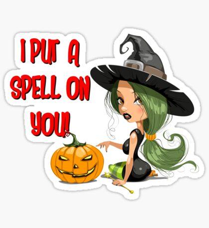 Sexy Witch! Sticker