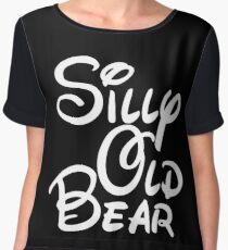 silly old bear 4 Women's Chiffon Top
