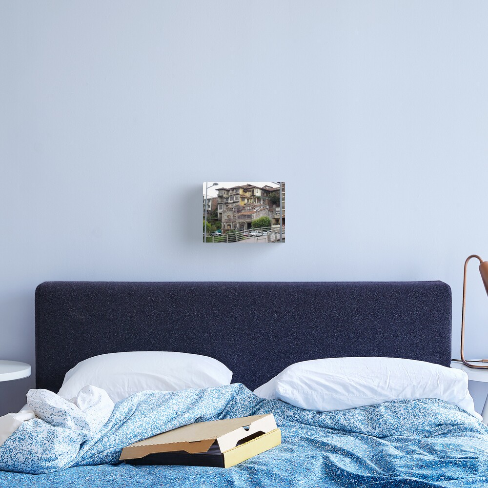 Architectural Patchwork Canvas Print