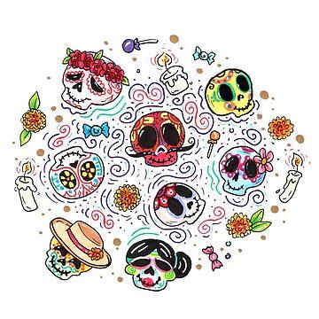 Day of the Dead - Dia de los muertos by Sol-Domino