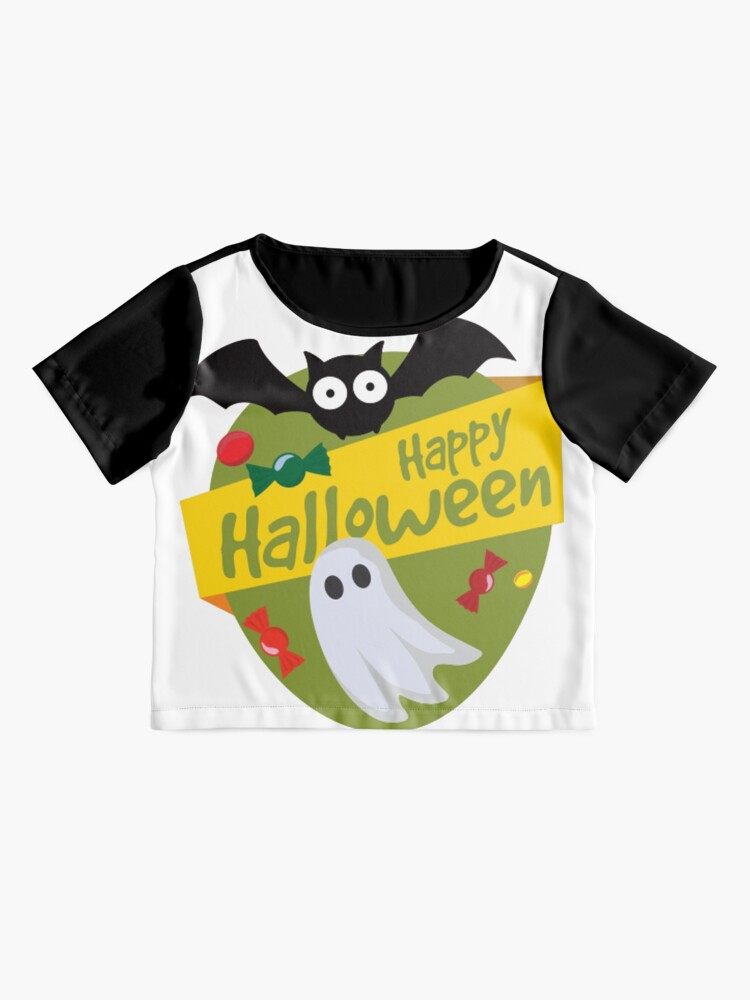 Alternate view of Happy Halloween! Chiffon Top