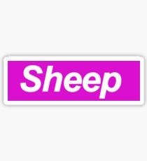 Sheep SUPREME iDubbbzTV Ricegum Sticker