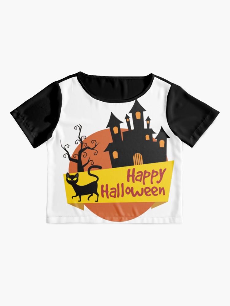 Alternate view of Happy Halloween! Chiffon Top