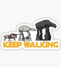 AT WALKERS Sticker